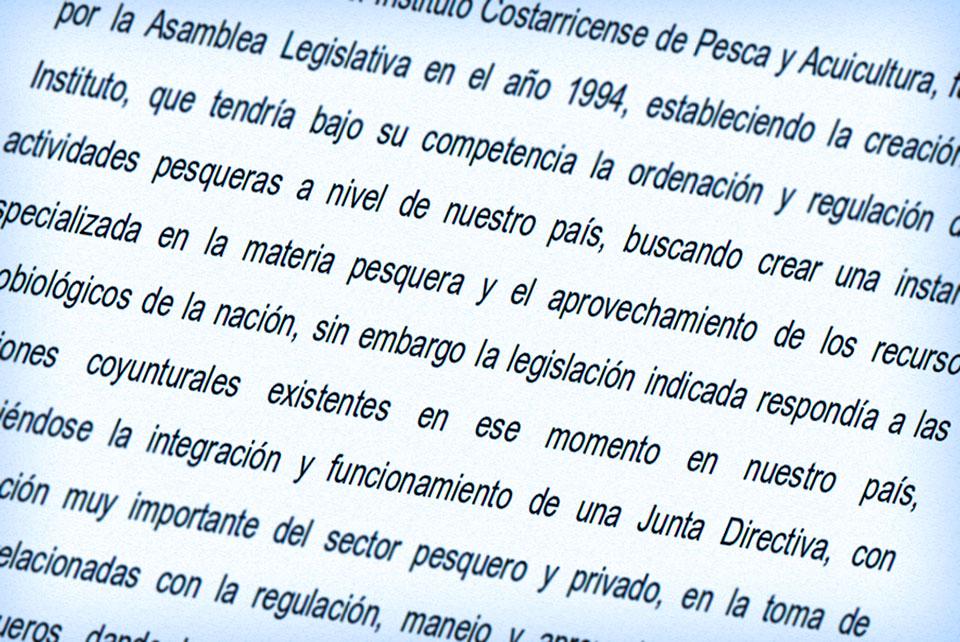 Reforma Incopesca 2014